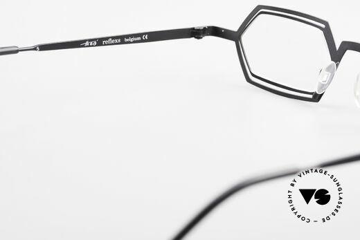 Theo Belgium Reflexs 90's Eyeglasses No Retro Frame, so to speak: vintage eyeglasses with representativeness, Made for Men
