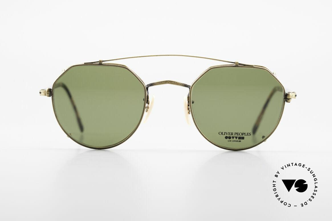 Oliver Peoples 43TAG Designer Glasses With Clip On