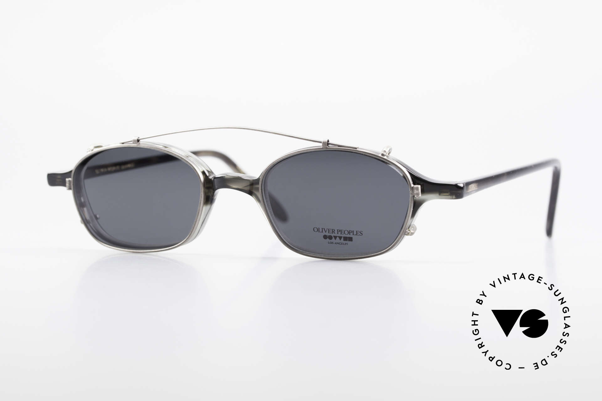 Oliver Peoples OP561 Classic 90's Frame Clip On, vintage Oliver Peoples eyeglasses from the 1990's, Made for Men and Women