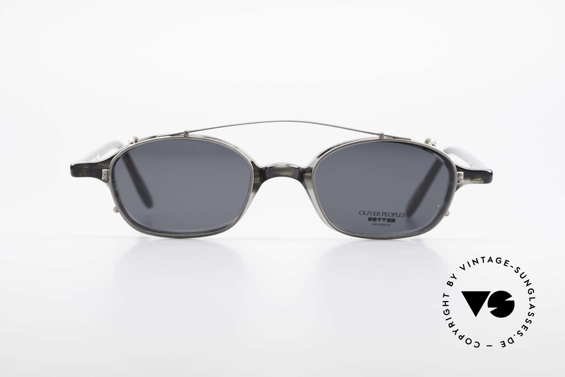 Oliver Peoples OP561 Classic 90's Frame Clip On, LUXURY glasses: a lifestyle that is distinctly L.A., Made for Men and Women