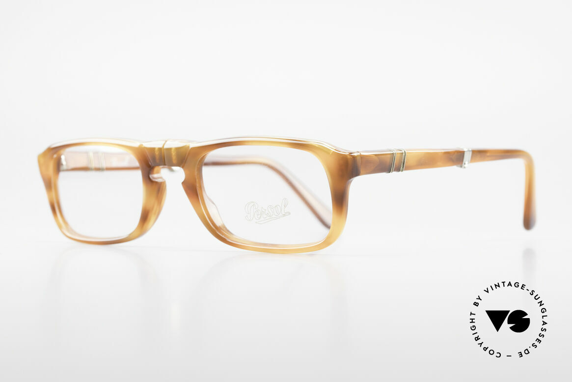 Persol Ratti 813 Folding Folding Reading Eyeglasses, foldable frame from the legendary RATTI manufactory, Made for Men