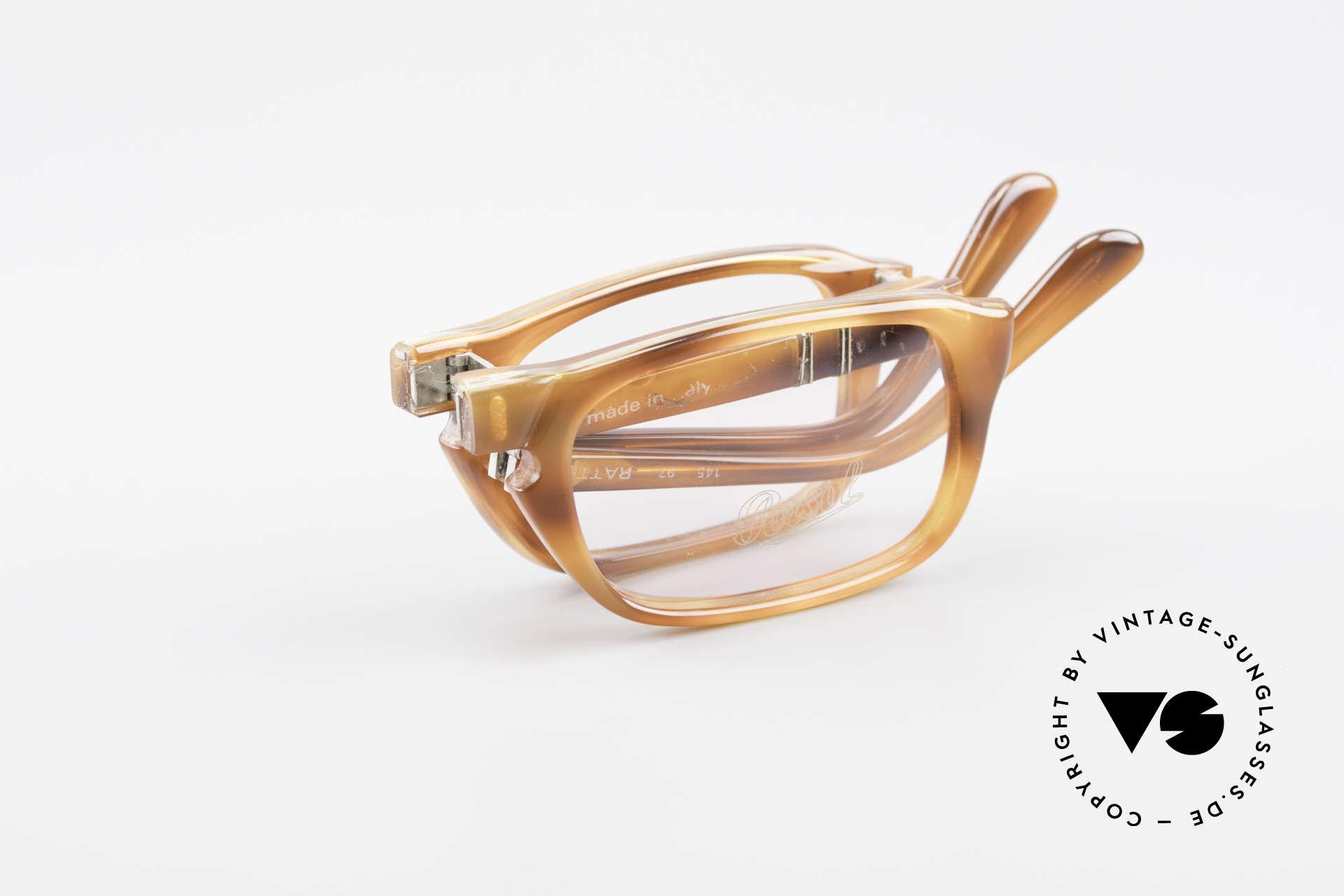 Persol Ratti 813 Folding Folding Reading Eyeglasses, Size: medium, Made for Men
