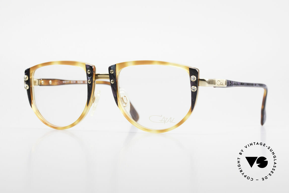 Cazal 332 Original 90's Cazal Glasses, charming Cazal vintage designer eyeglass-frame, Made for Women
