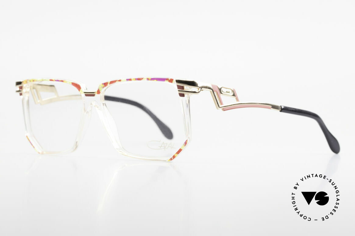 Cazal 351 Original Vintage Cazal HipHop, typical coloring & design, at that time (colorful), Made for Women