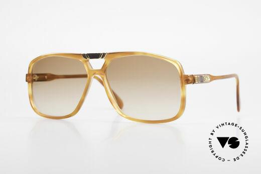 Cazal 637 Rare Hip Hop Sunglasses 1980's Details