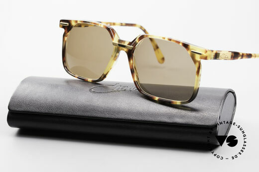 Cazal 646 Vintage Cazal No Retro Cazal, dark brown sun lenses (for 100% UV protection), Made for Men