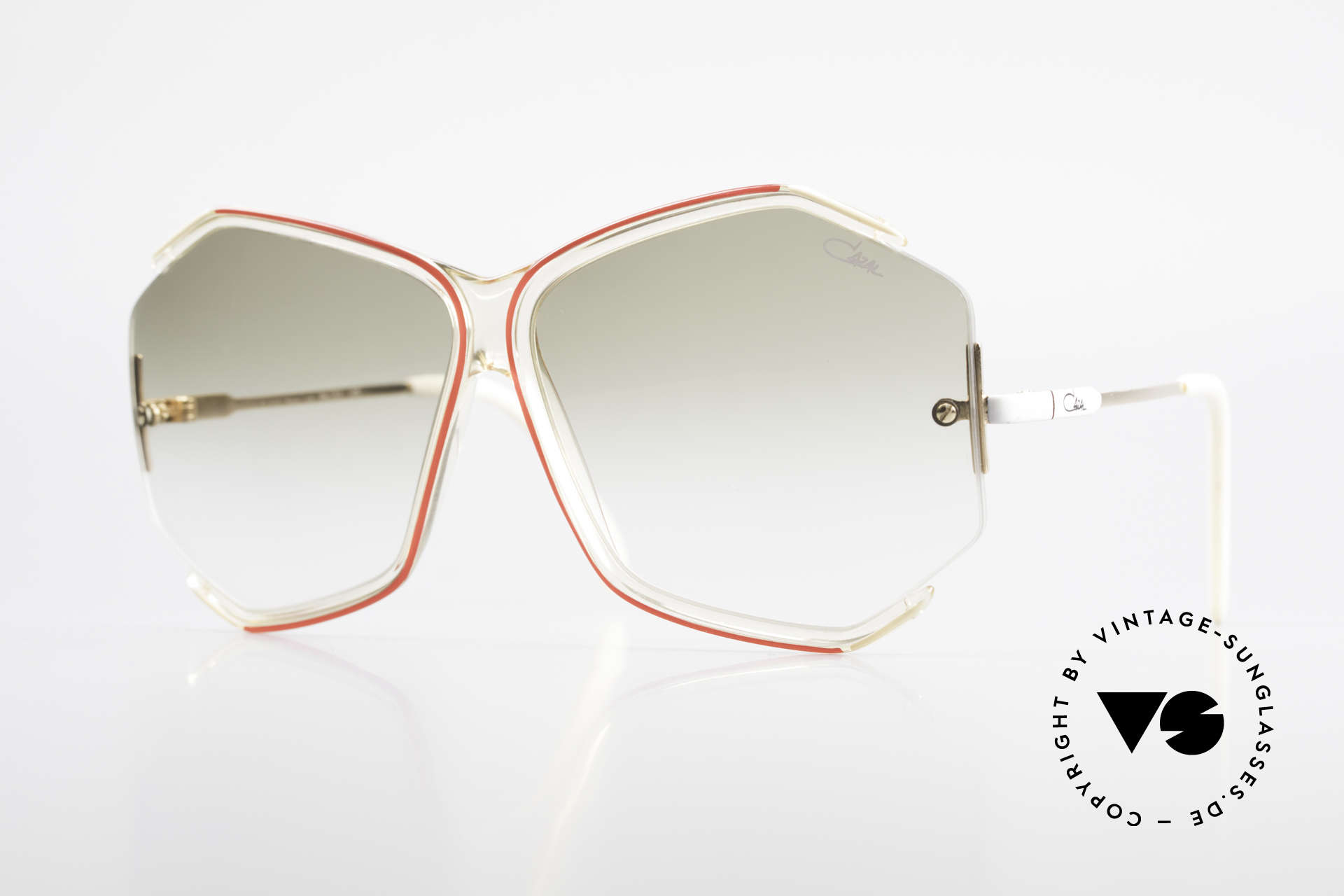 Cazal 852 Vintage 80's Sunglasses XXL, fancy Cazal 'oversized sunglasses ' from the eighties, Made for Women