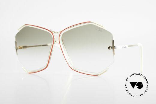Cazal 852 Vintage 80's Sunglasses XXL Details