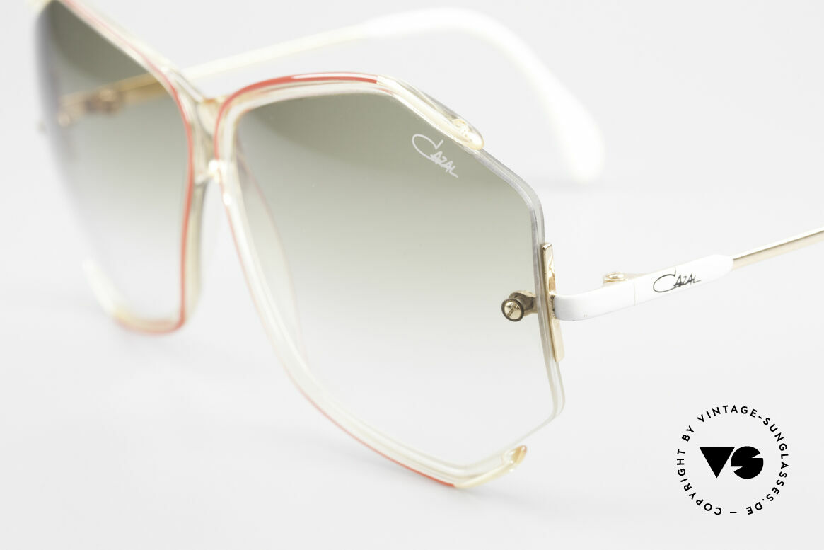 Cazal 852 Vintage 80's Sunglasses XXL, unworn rarity in XXL size (comes with a new case), Made for Women