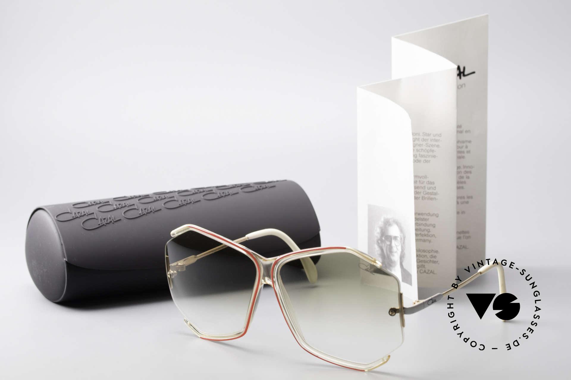 Cazal 852 Vintage 80's Sunglasses XXL, Size: extra large, Made for Women