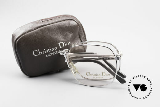 Christian Dior 2288 Folding Eyeglasses Monsieur, the demo lenses should be replaced with prescriptions, Made for Men