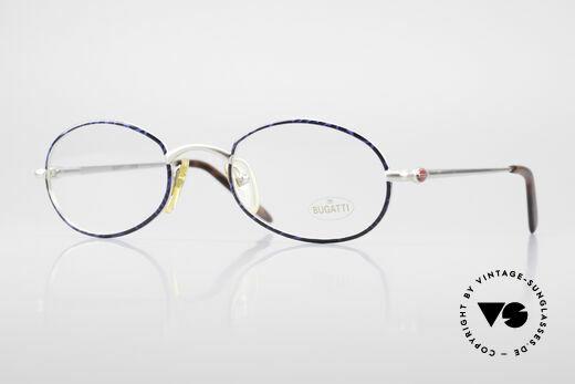 Bugatti 22338 Rare Oval 90's Vintage Specs Details