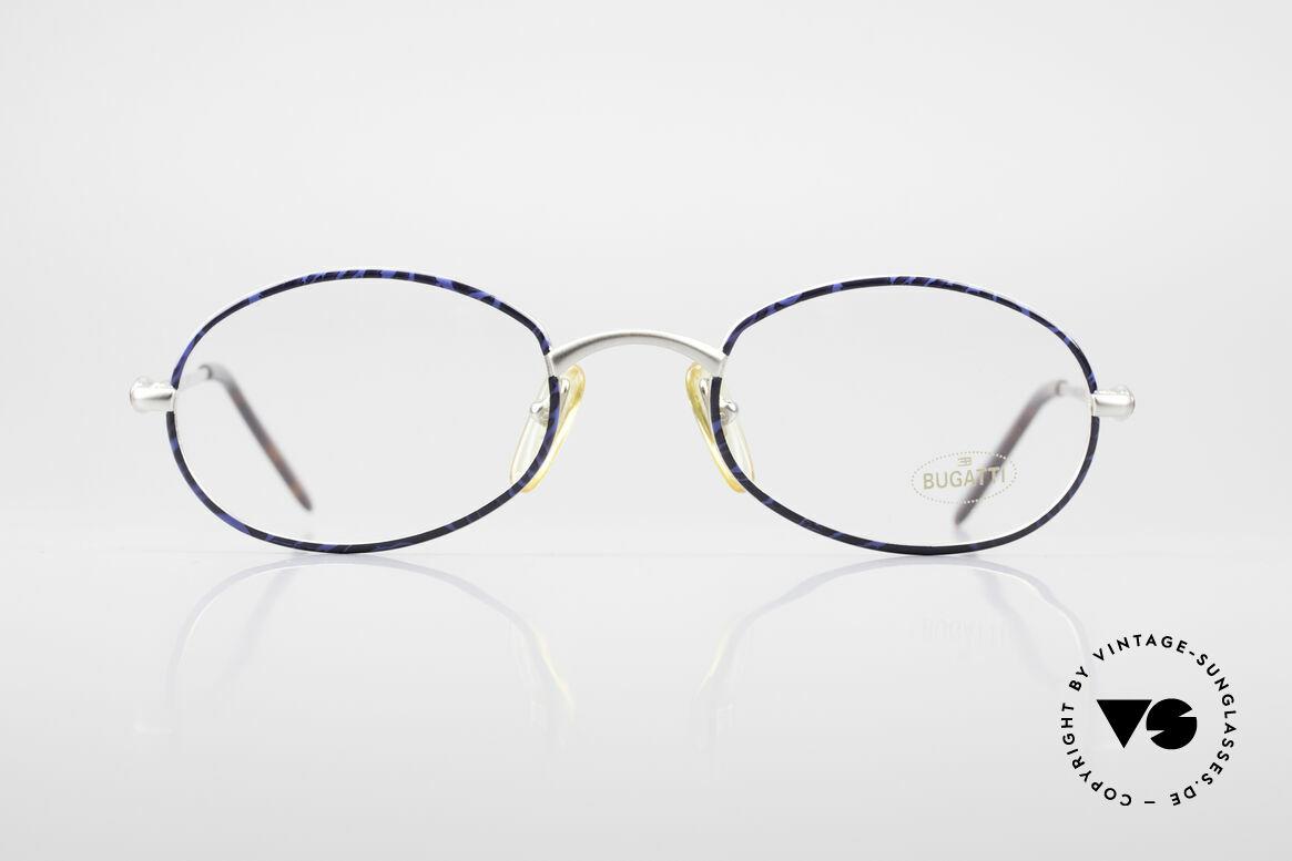 Bugatti 22338 Rare Oval 90's Vintage Specs