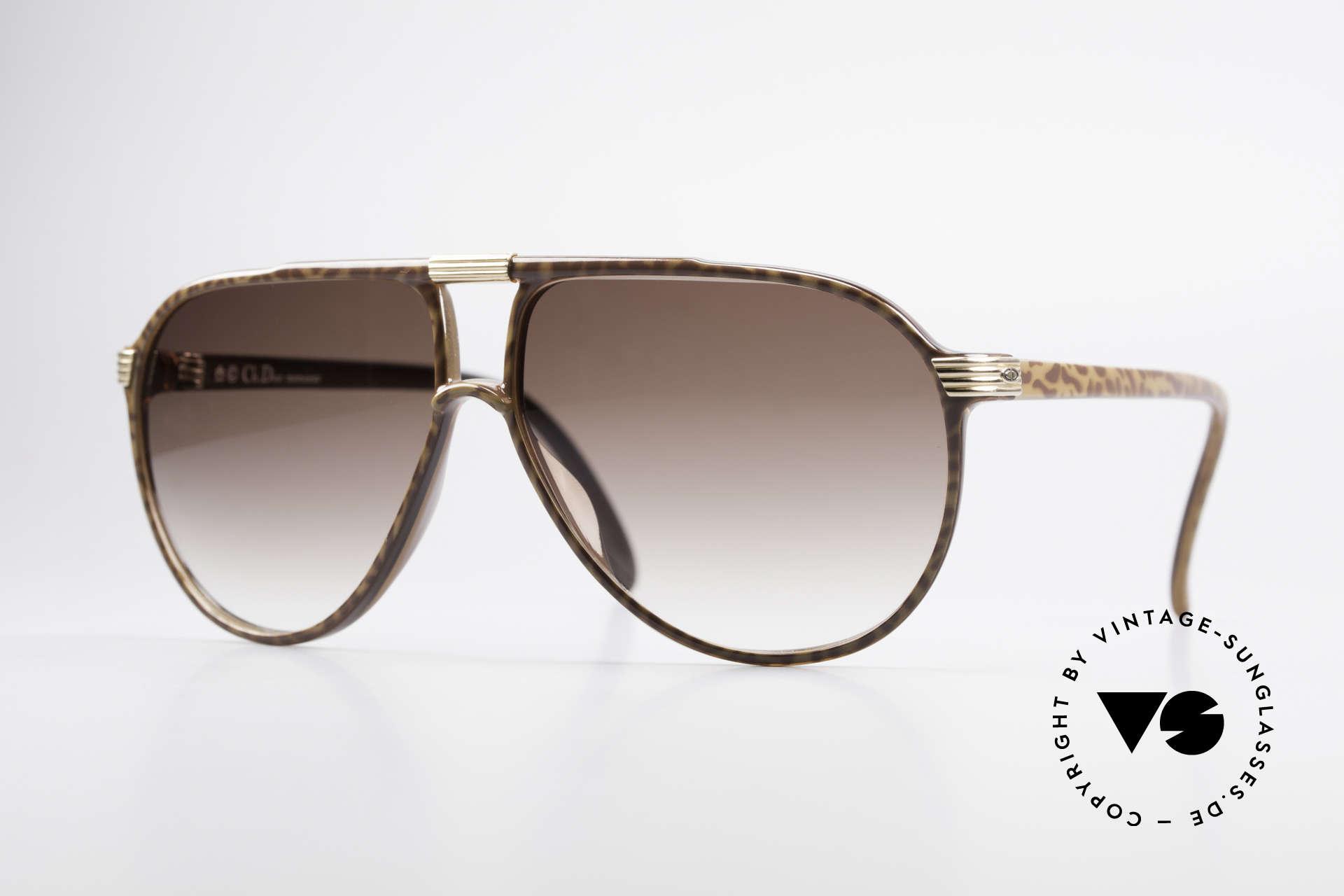 Christian Dior 2300 80's Aviator Sunglasses, orig. Christian Dior vintage sunglasses from 1985, Made for Men