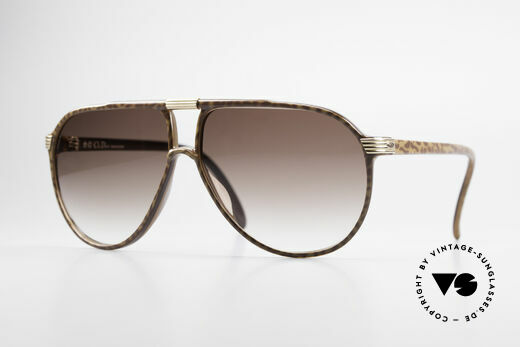 Christian Dior 2300 80's Aviator Sunglasses Details