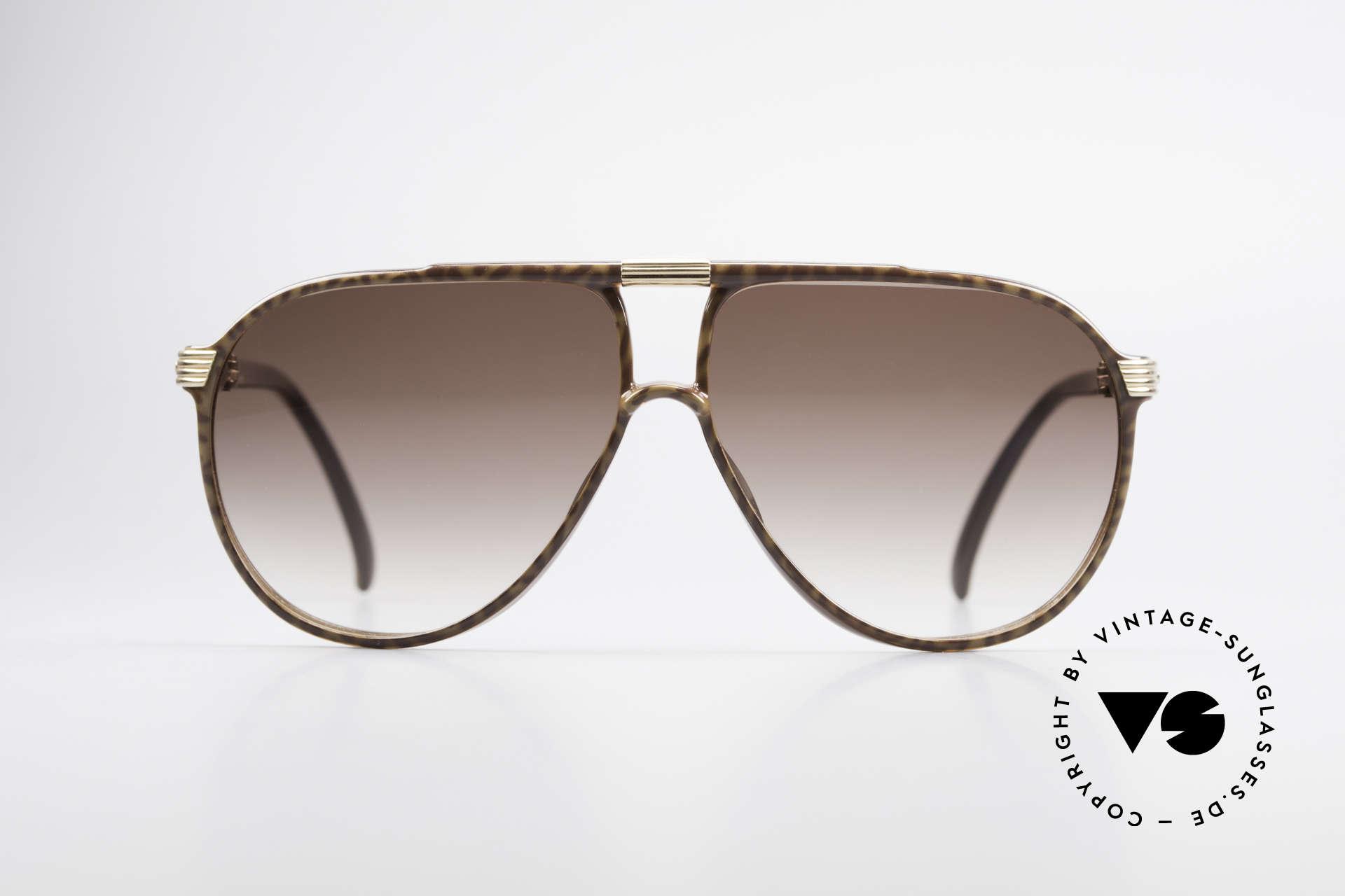 """Christian Dior 2300 80's Aviator Sunglasses, legendary """"tear drop"""" design or """"aviator shades"""", Made for Men"""