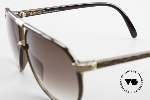 Christian Dior 2300 80's Aviator Sunglasses, new old stock (like all our DIOR Monsieur shades), Made for Men