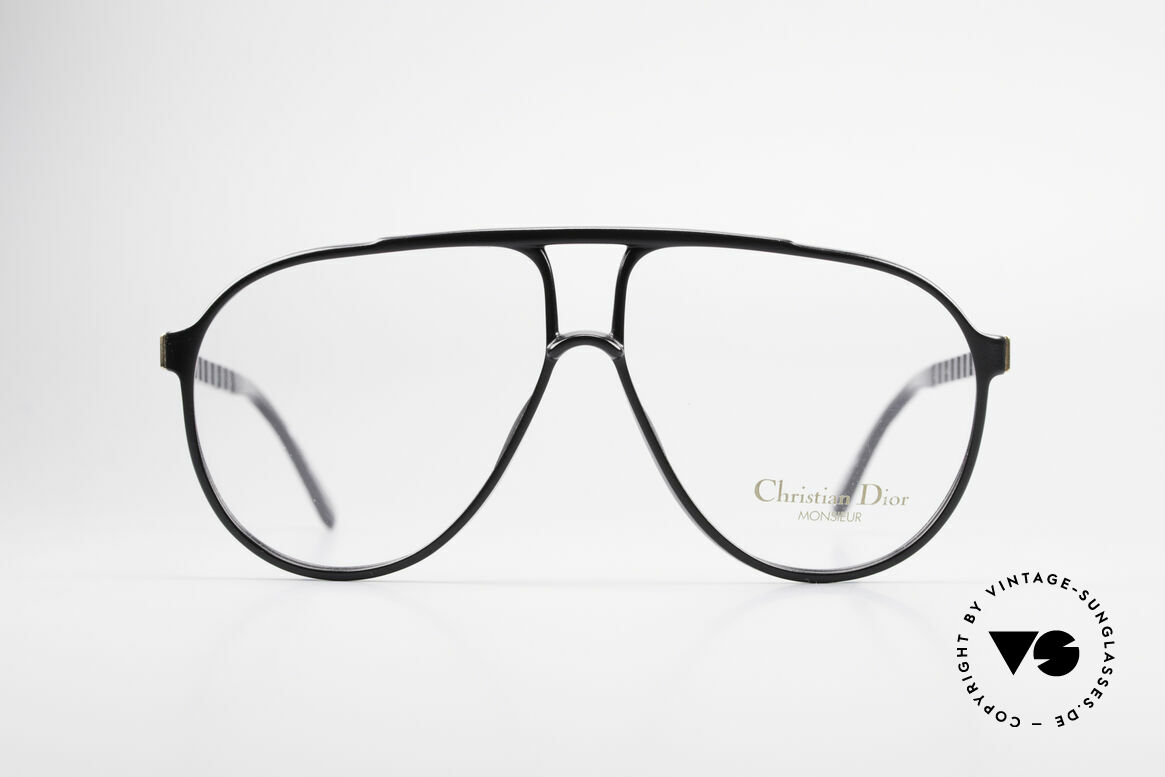 Christian Dior 2469 80's Monsieur Vintage Glasses, masculine cool design by Christian Dior from 1988, Made for Men