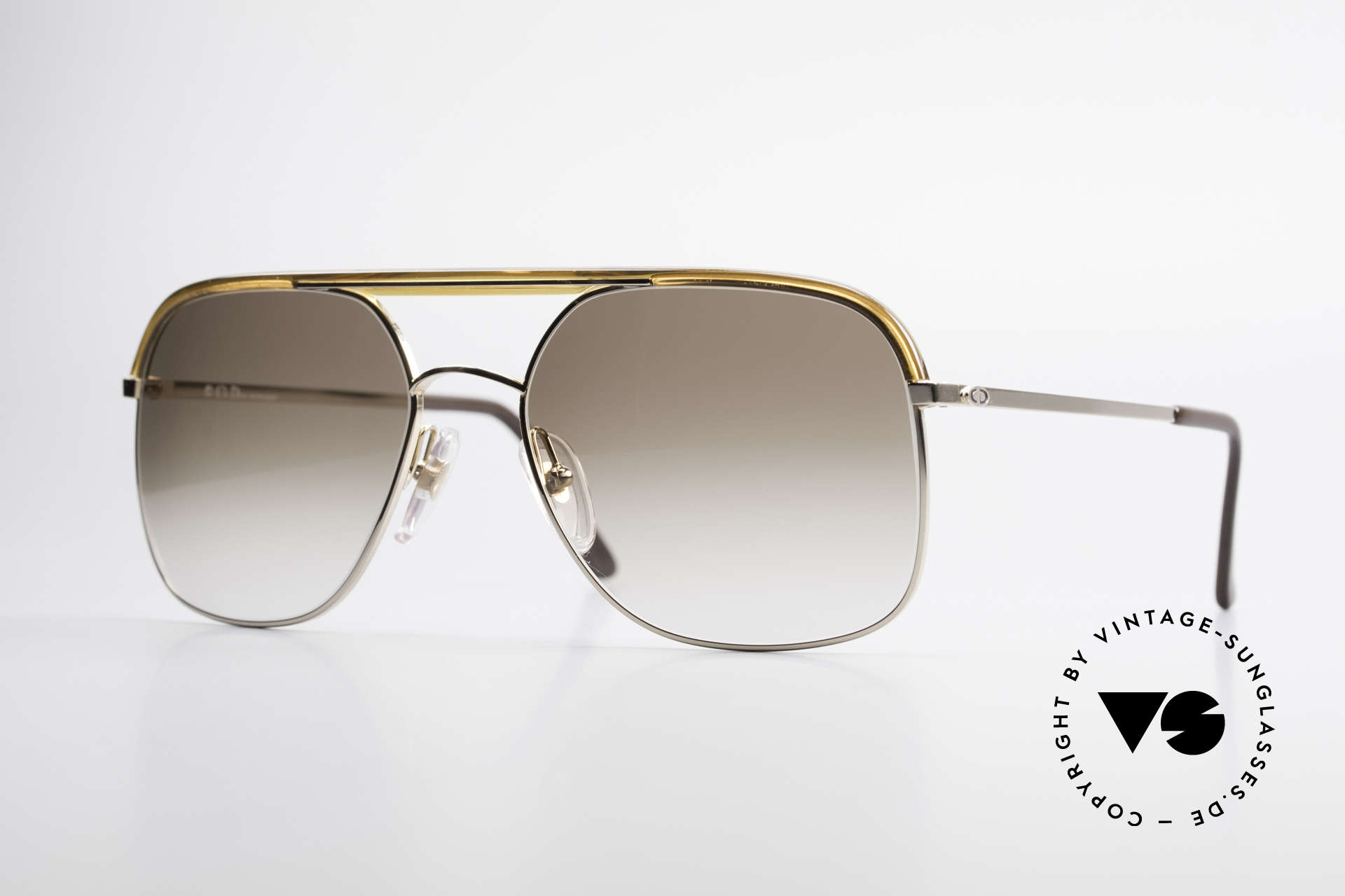 "Christian Dior 2247 80's Men's Shades Vintage, vintage shades of the ""Monsieur"" series by Christian Dior, Made for Men"
