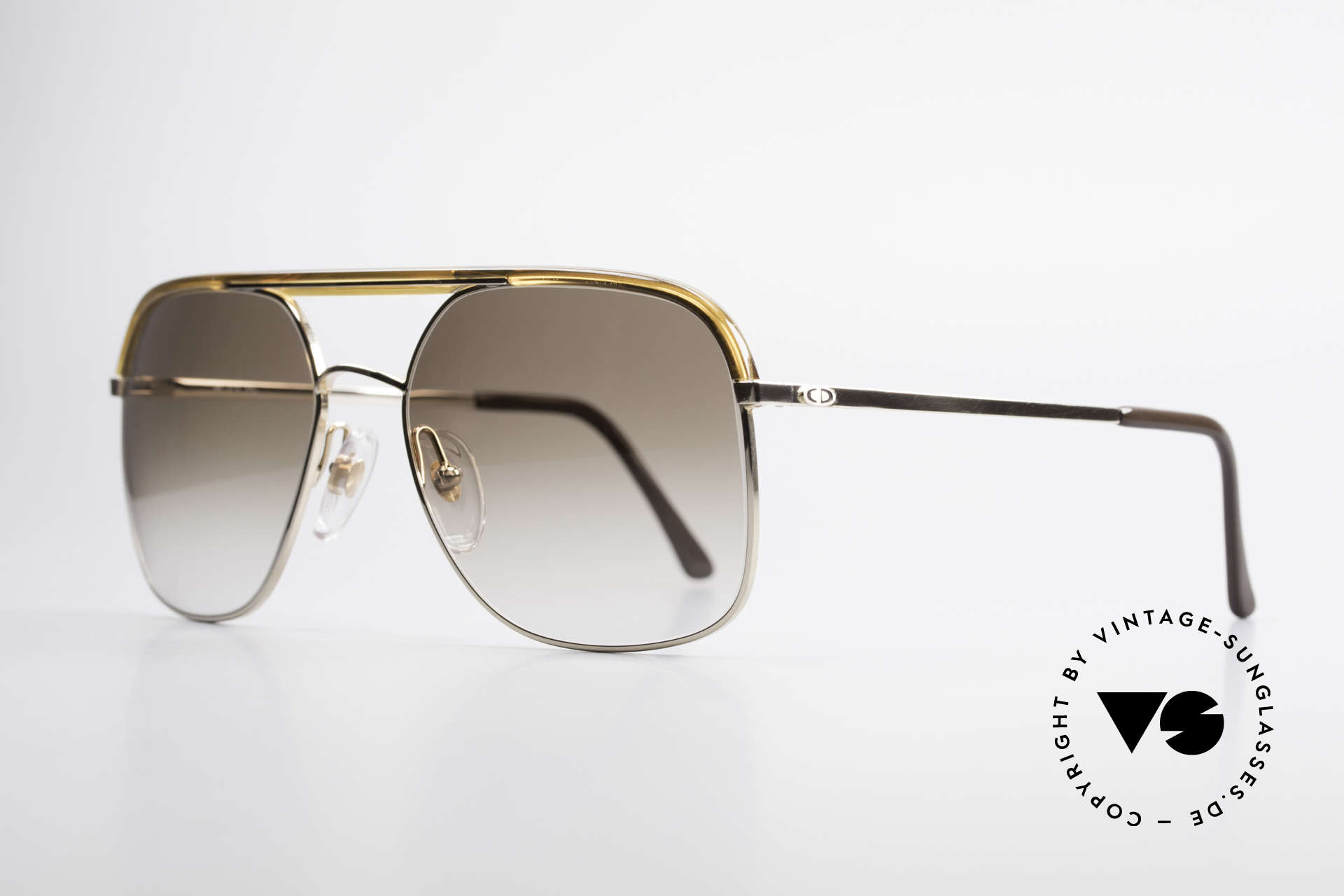 Christian Dior 2247 80's Men's Shades Vintage, classic 80's gentlemen look (distinctive, noble, striking), Made for Men