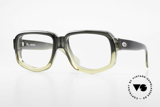 Christian Dior 1209 - M Monsieur 70's Optyl Glasses Details