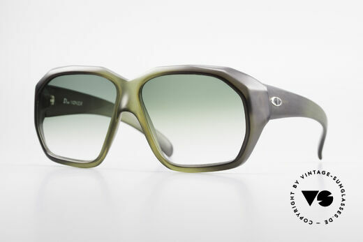 Christian Dior 2001 Old 70's XL Optyl Sunglasses Details