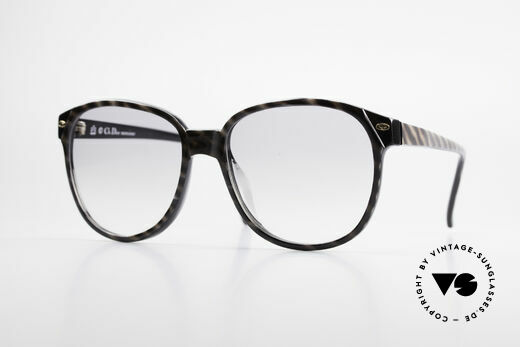 Christian Dior 2265 80's Monsieur Dior Sunglasses Details