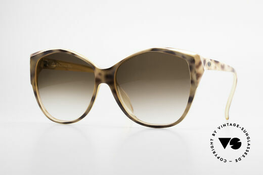 Christian Dior 2233 XL 80's Ladies Sunglasses Details