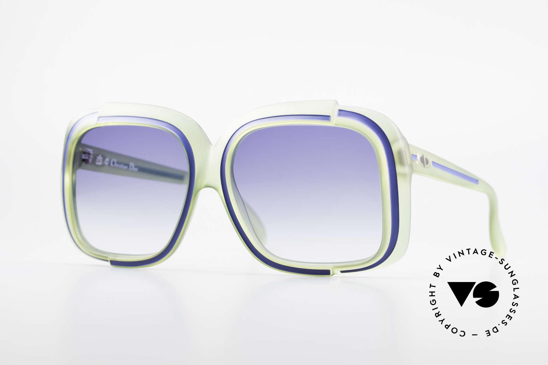 Christian Dior 2042 Rare Vintage Sunglasses 70's, magical Christian Dior designer sunglasses of the 70's, Made for Women