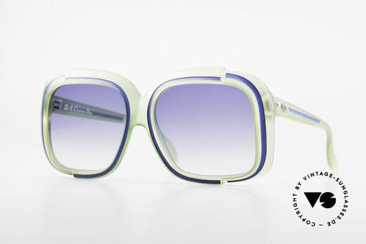 Christian Dior 2042 Rare Vintage Sunglasses 70's Details