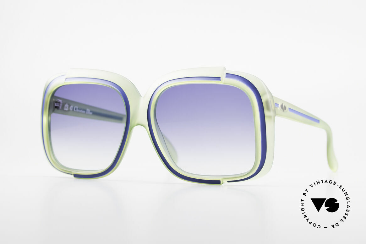 Christian Dior 2042 Rare Vintage Sunglasses 70's, magical Christian Dior designer sunglasses of the 70's, Made for Women