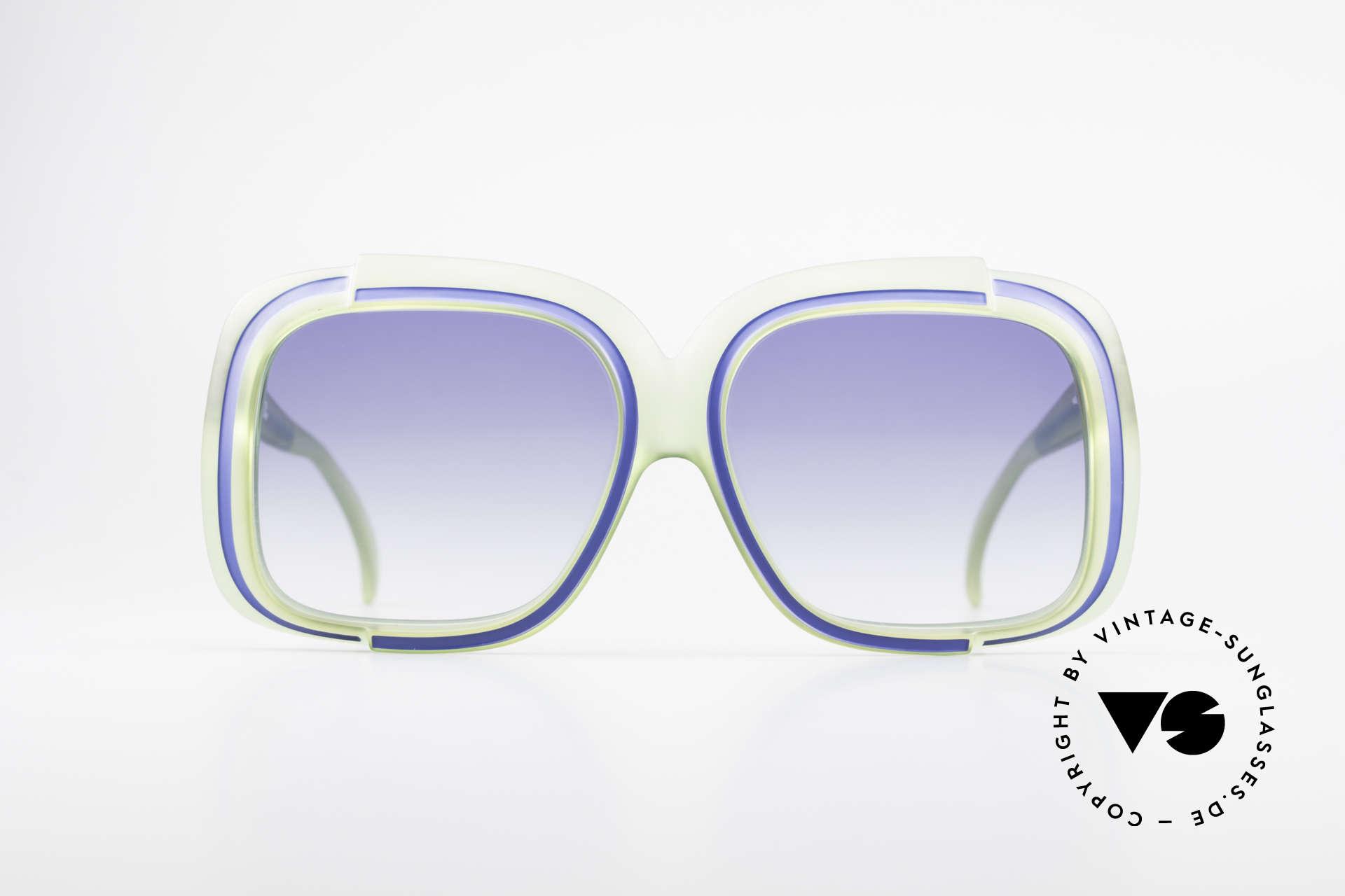 Christian Dior 2042 Rare Vintage Sunglasses 70's, one of the first sunglass' models by Christian Dior, ever, Made for Women