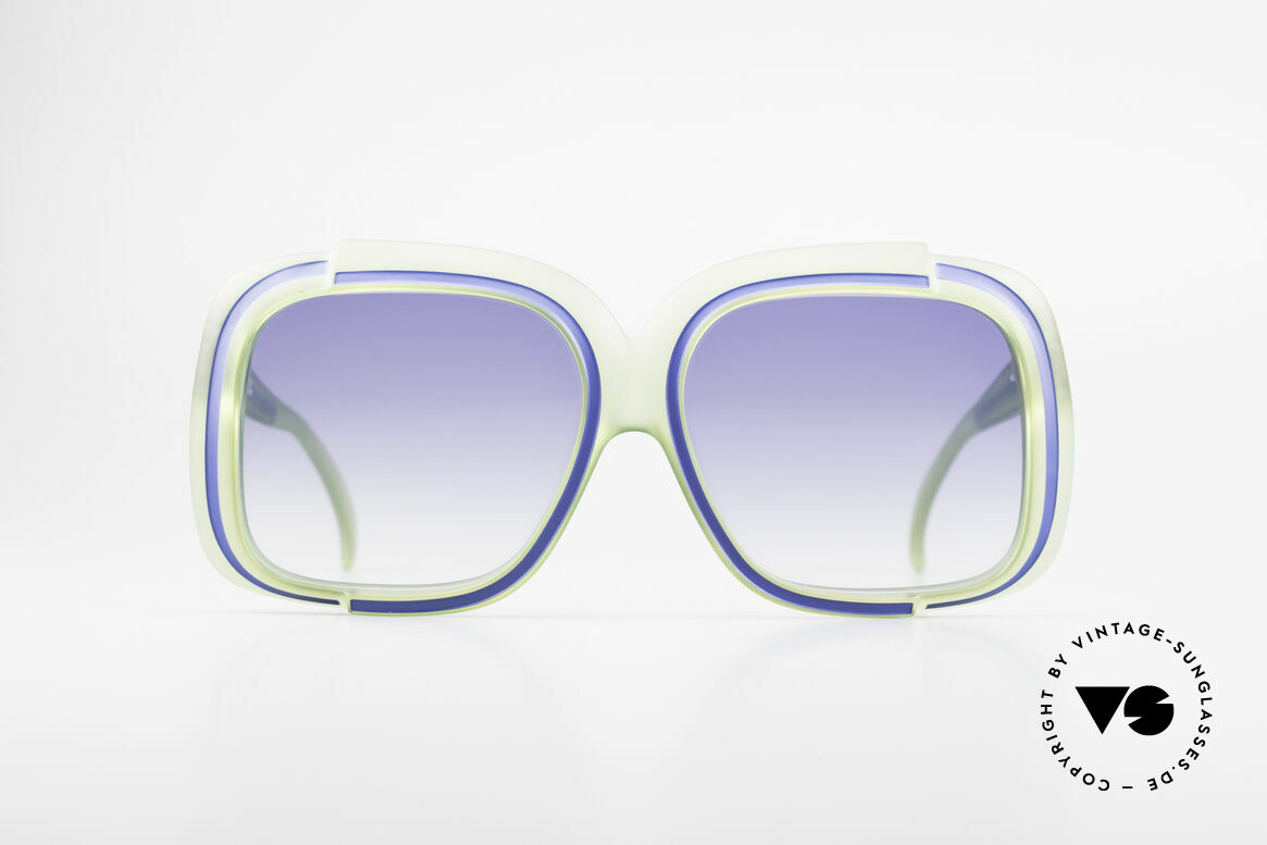 Christian Dior 2042 Rare Vintage Sunglasses 70's, one of the first sunglass' models by Christian Dior, ever, Made for Women