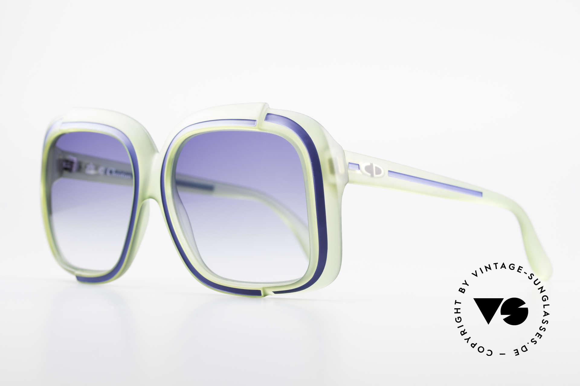 Christian Dior 2042 Rare Vintage Sunglasses 70's, a real vintage rarity; one of a kind; a true eye-catcher!, Made for Women