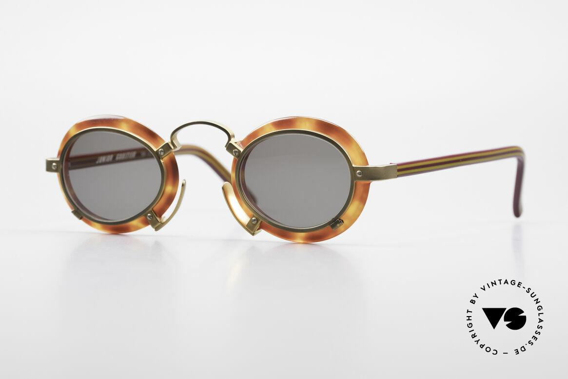 Jean Paul Gaultier 58-1273 Designer Sunglasses JPG 90's