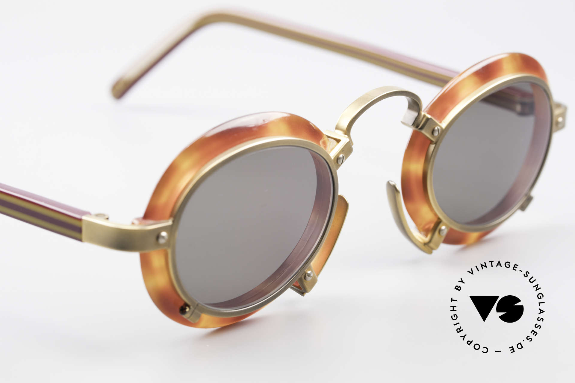Jean Paul Gaultier 58-1273 Designer Sunglasses JPG 90's, unworn, one of a kind (like all our JPG originals), Made for Men and Women