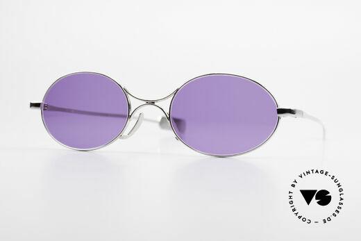 Jean Paul Gaultier 55-0173 Oval Designer Sunglasses Details