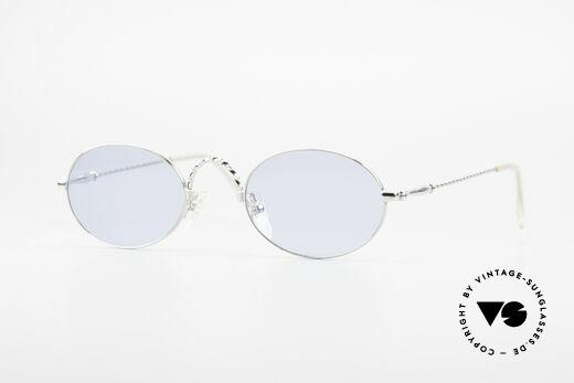 Jean Paul Gaultier 55-0175 Oval Vintage Sunglasses 90's Details