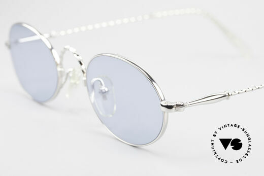 Jean Paul Gaultier 55-0175 Oval Vintage Sunglasses 90's