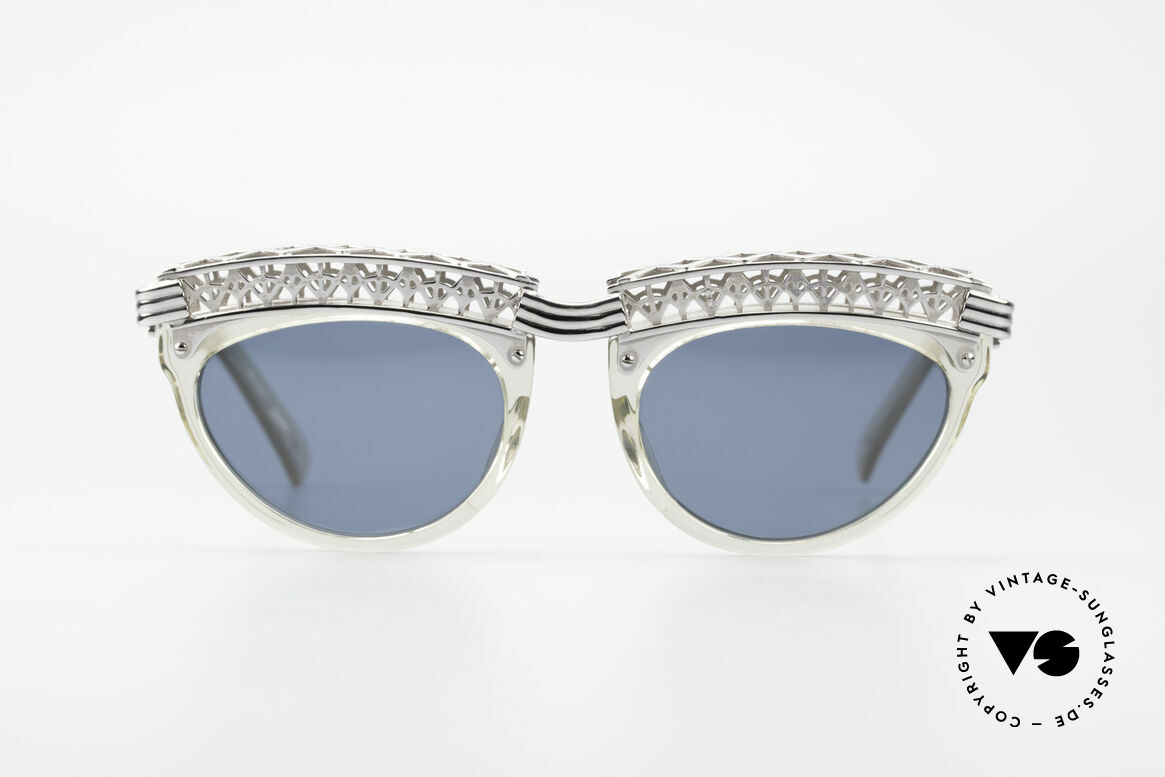 Jean Paul Gaultier 56-0271 Eiffel Tower Rihanna Shades, neatest crafting & premium materials; made in Japan, Made for Women