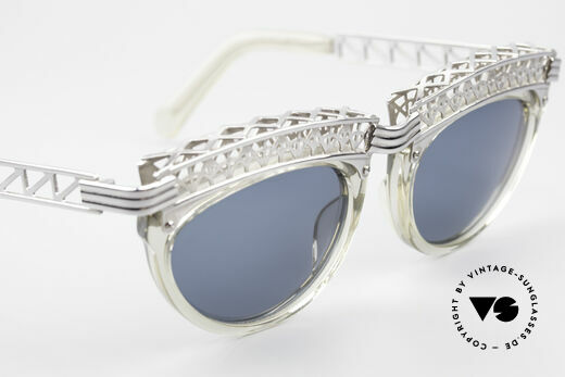 Jean Paul Gaultier 56-0271 Eiffel Tower Rihanna Shades, unused (like all our Haute Couture Gaultier sunglasses), Made for Women