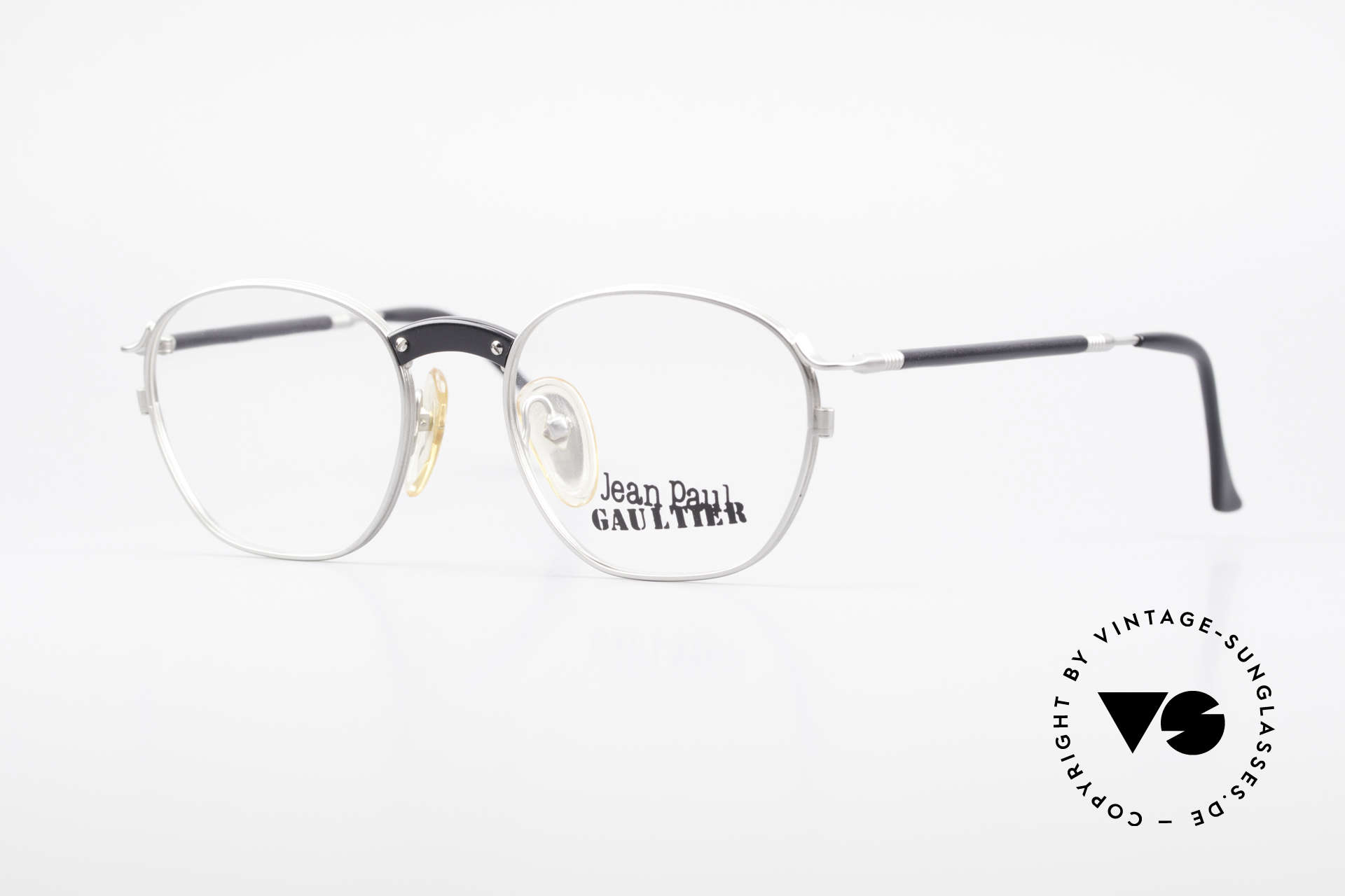 Jean Paul Gaultier 55-1271 Rare JPG Vintage Eyeglasses, vintage designer eyeglasses by Jean Paul GAULTIER, Made for Men and Women