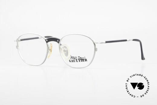 Jean Paul Gaultier 55-1271 Rare JPG Vintage Eyeglasses Details