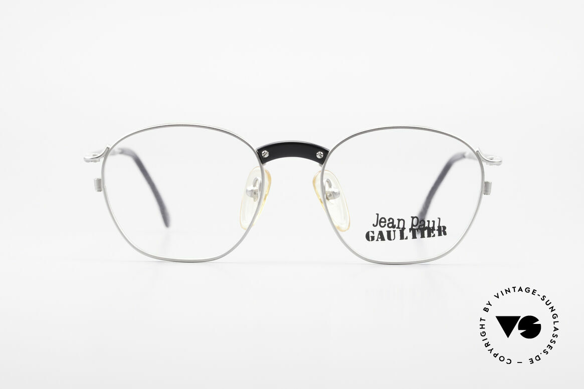 Jean Paul Gaultier 55-1271 Rare JPG Vintage Eyeglasses, lightweight (titan) frame and very pleasant to wear, Made for Men and Women