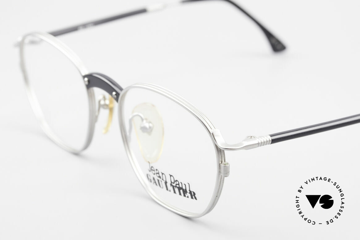 Jean Paul Gaultier 55-1271 Rare JPG Vintage Eyeglasses, unused (like all our Haute Couture J.P.G. eyeglasses), Made for Men and Women