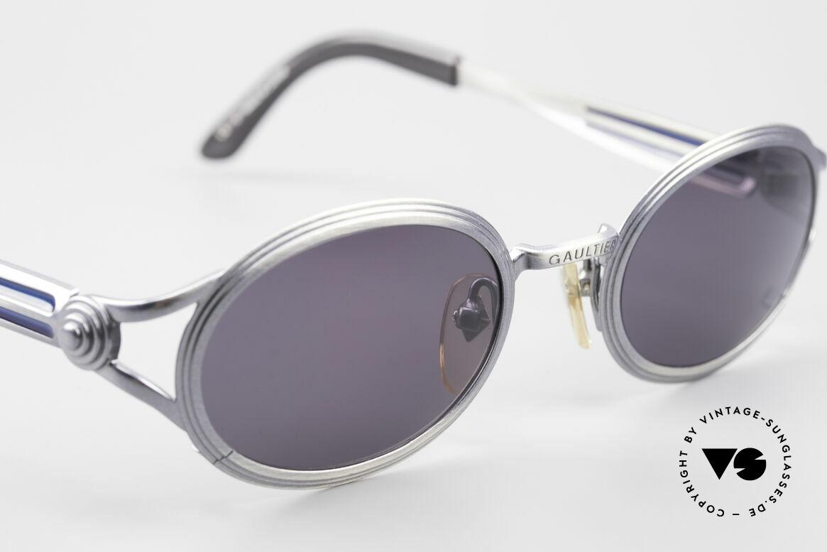 Jean Paul Gaultier 56-7114 Oval Steampunk JPG Glasses