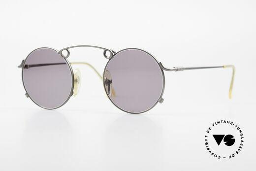 Jean Paul Gaultier 56-1178 Artful Round Panto Sunglasses Details