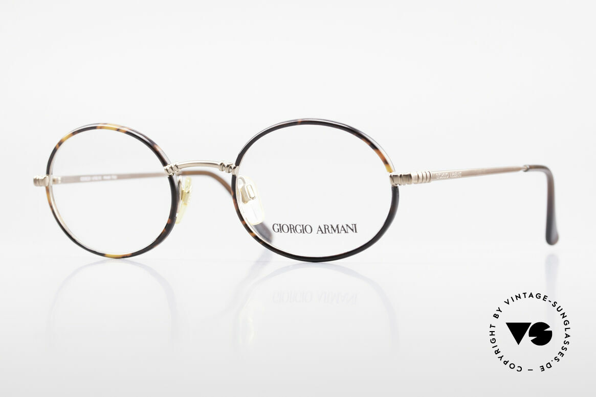 Giorgio Armani 223 Oval Vintage 90's Eyeglasses, vintage designer eyeglass-frame by GIORGIO Armani, Made for Men and Women