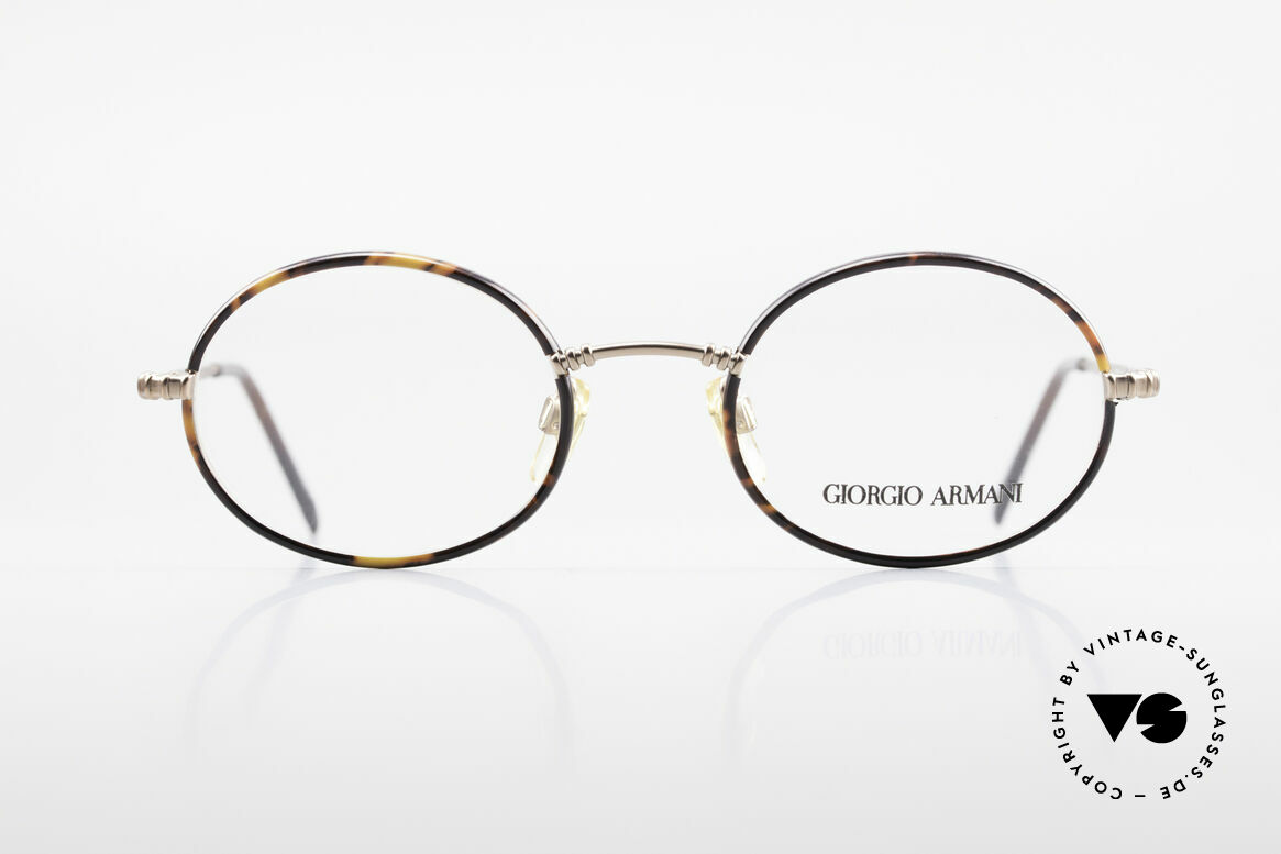 Giorgio Armani 223 Oval Vintage 90's Eyeglasses, a true classic in design & coloring (timeless elegant), Made for Men and Women