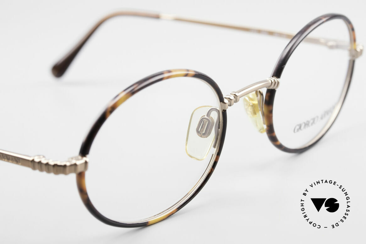 Giorgio Armani 223 Oval Vintage 90's Eyeglasses, NO RETRO GLASSES; a unique original by G. ARMANI, Made for Men and Women